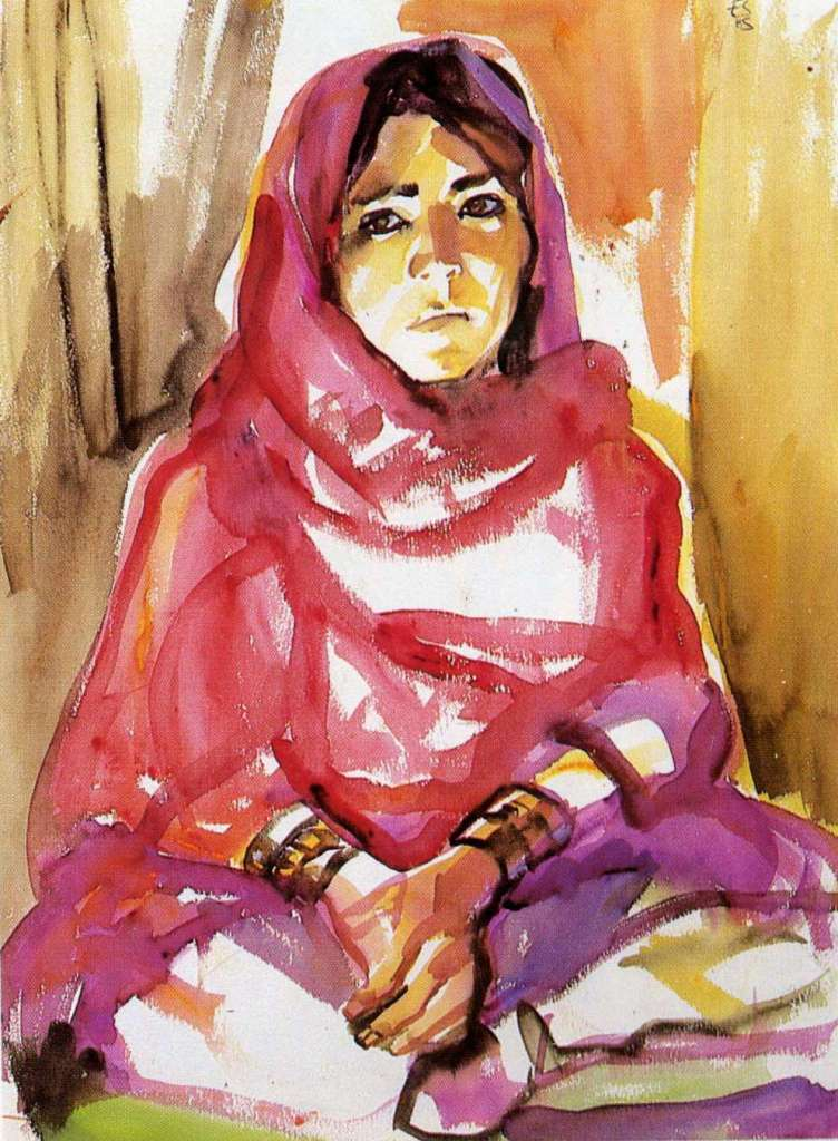 Image No: Turkman Girl