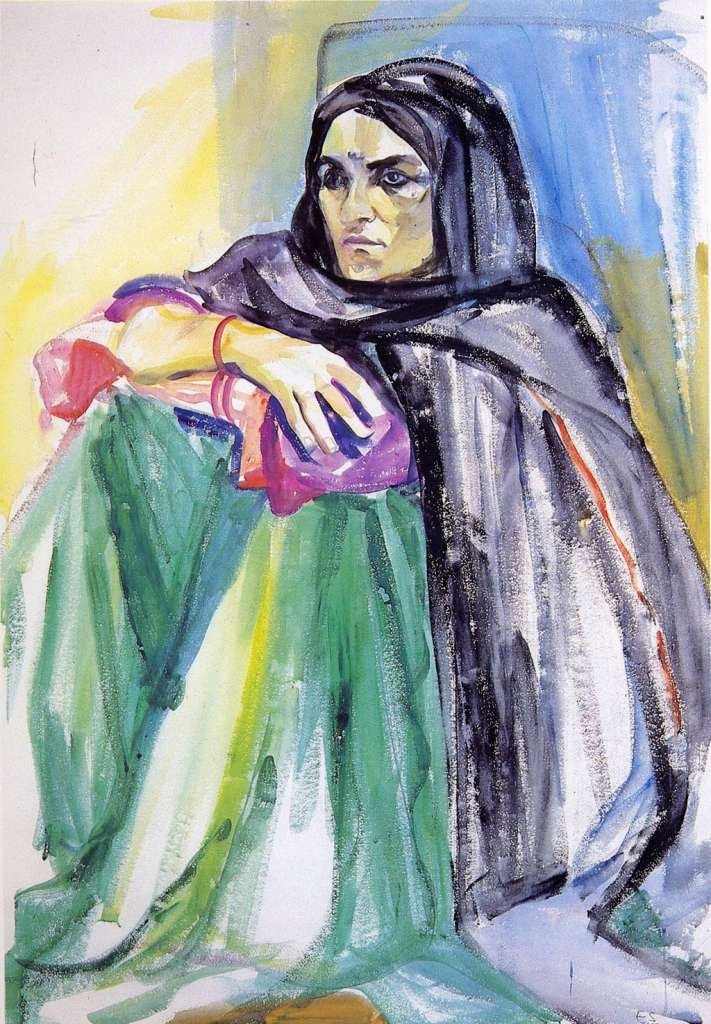 Image No: Afghan servant woman