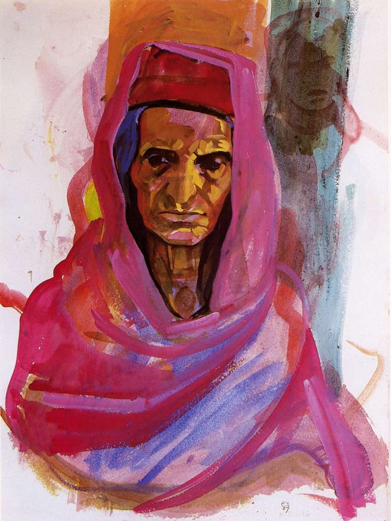 Image No: Old Afghan Lady