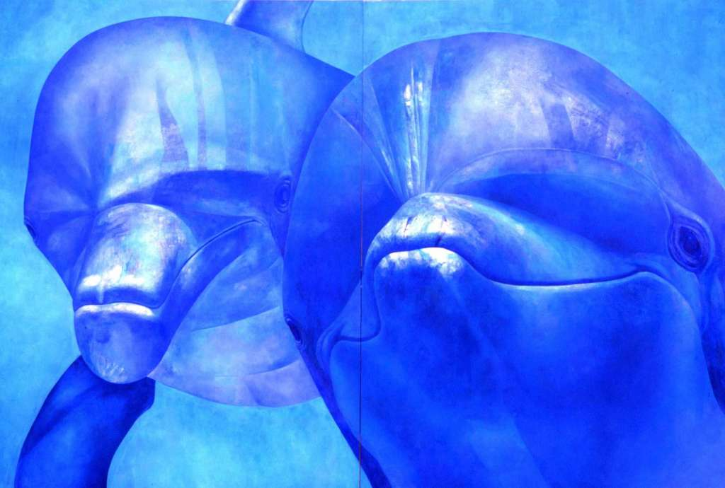 Image No: Dolphin Diptych